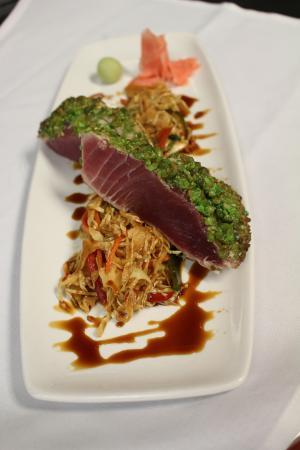 Ken Stewart's Lodge: Wasabi Crusted Ahi Tuna