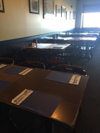 Schooner's: Casual family style dining area.
