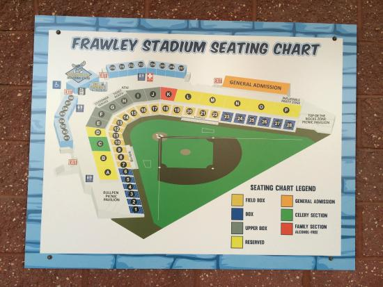 Seating chart for blue rocks game at frawley stadium 2015 picture
