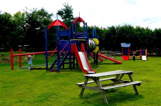 Carlton, UK: larger climbing frame