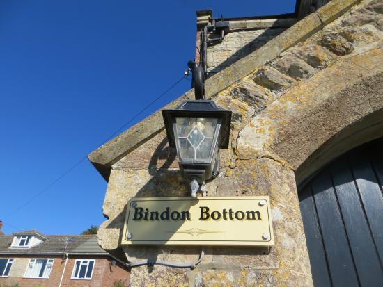 Bindon Bottom B&B: Bindon Bottom