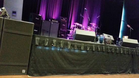 Cape May Convention Hall: the view from our seats