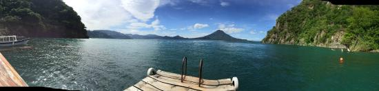 Santa Cruz La Laguna, Guatemala: View from Dock