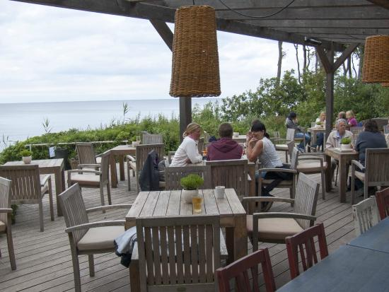 Deck Reastaurant, Bar & Beach Club: Terrasse