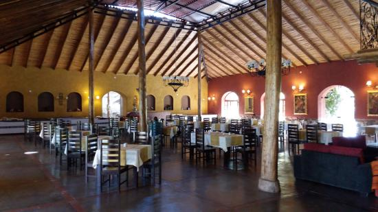 Eco Andina Hotel: Amplo restaurante