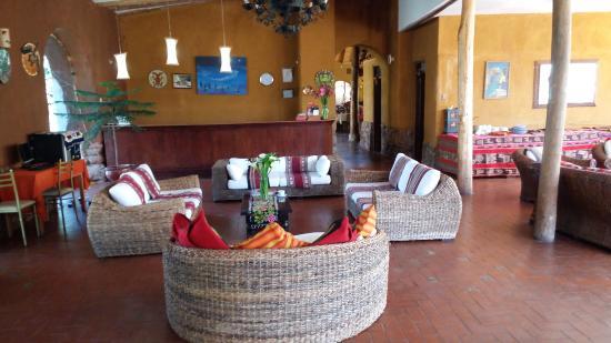 Eco Andina Hotel: Recepção do hotel