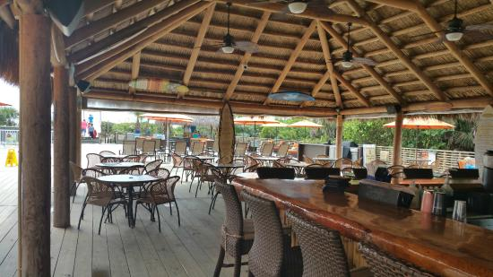 Hilton Cocoa Beach Oceanfront Tiki Bar