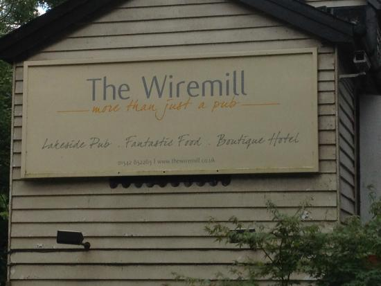 The Wiremill Lakeside Pub & Inn: Indeed, more than just a pub!