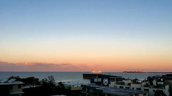 Majorca Isle Beachside Resort: view from veranda