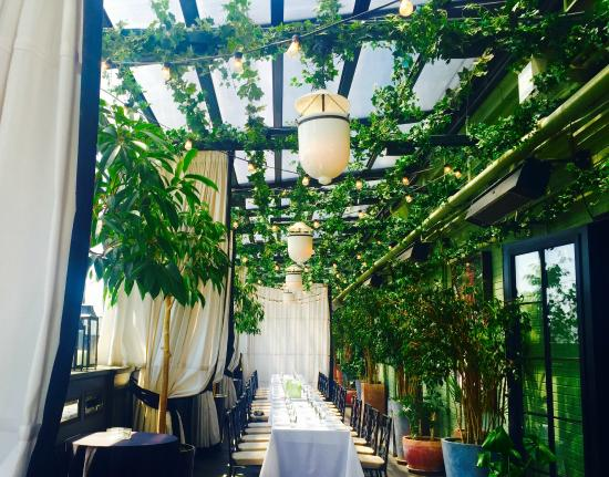 Gramercy Park Hotel The Rooftop Dining Area