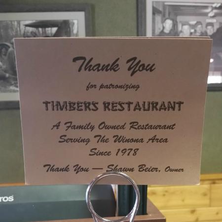 Customer Focus at Timbers Restaurant