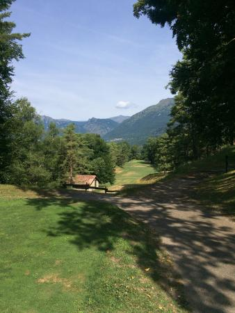 Menaggio & Cadenabbia Golf Club : Lovely hole with amazing views!
