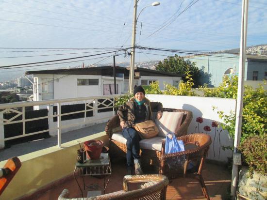 Casa Kreyenberg B&B: terraza con preciosa vista