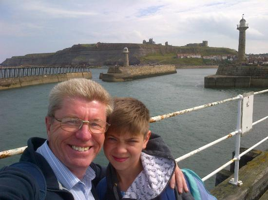 Heathfield Bed and Breakfast : Whitby Harbour and Abbey