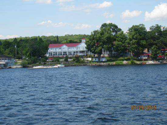 View of Viamede Resort from the water