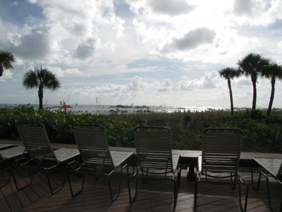 Siesta Dunes Beach Condominiums: View from the deck