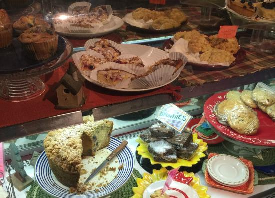 Blue Moon Cafe: the bakery selection