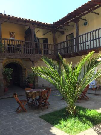Hostal Quipu Cusco: Patio