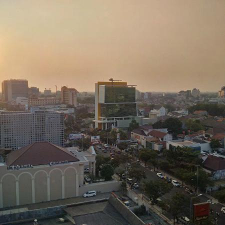 @HOM Hotel Simpang Lima by Horison: View form one of the room (west wing)