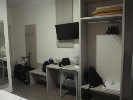 Hotel Ariston: quarto
