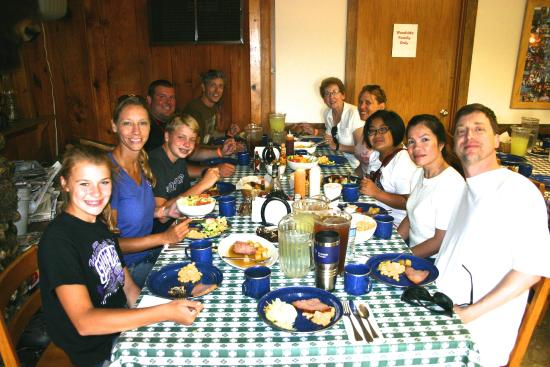 Woodside Ranch Resort: Enjoyable meals included