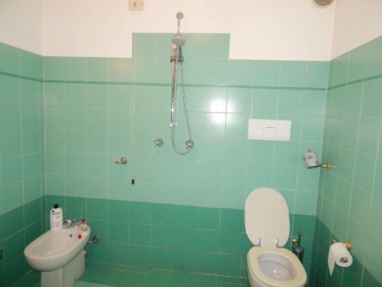 Hotel Buenos Aires : banheiro sem box ou cortina