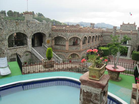 Castillo Santa Cecilia Hotel: vista