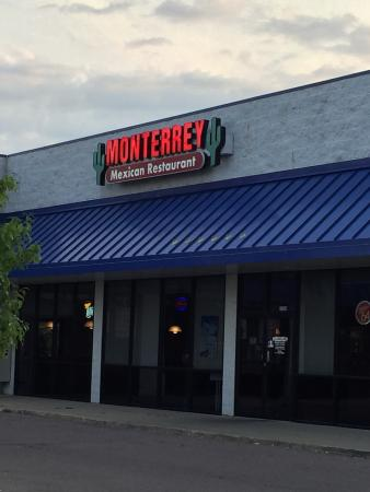 Monterrey Mexican Restaurant This Great Little Is Tucked Away In The Corner Of A