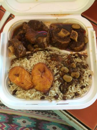 Ox Tail Rice And Beans With Plantains Picture Of Jamaica Kitchen