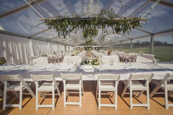 Chandeliers on Abbey: Bridal table