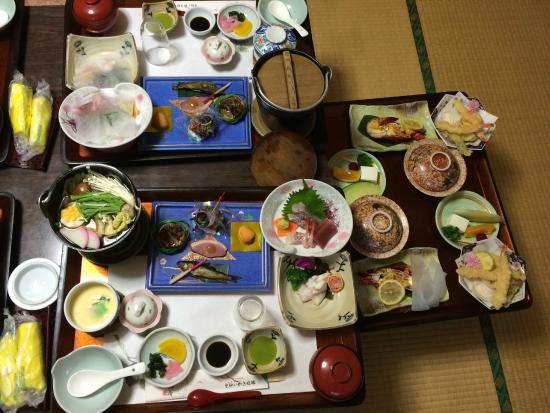 Unzen Iwaki Ryokan: 夕食