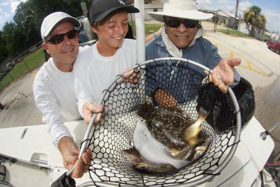A good fishing day picture of jacksonville fishing trips for Deep sea fishing jacksonville