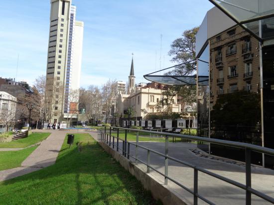 Plaza Rayuela: Vista de la plaza