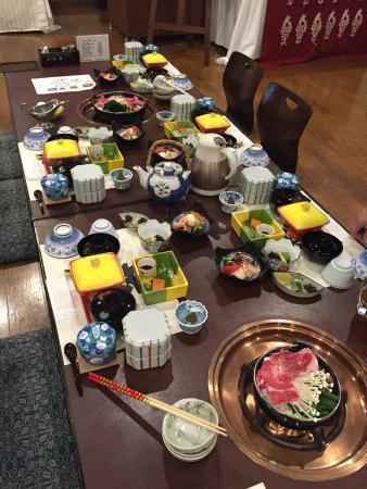 Hotel Yumenoyu: Dinner