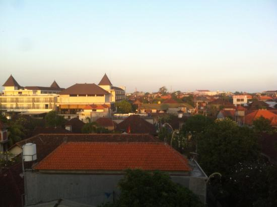 A Residence Kuta: view from the roof