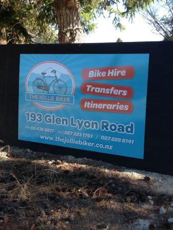 Twizel, นิวซีแลนด์: Where to find us on Glen Lyon Road :)