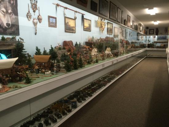 Museum of Miniatures: An opening view of the museum