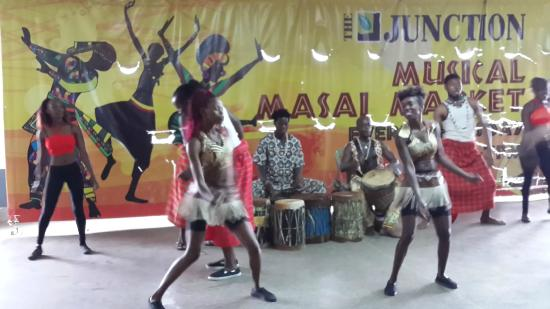 The Junction Mall: Traditional Massai Dance