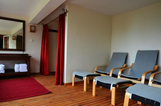 Himalayan Height Resort: Steam and sauna rooms