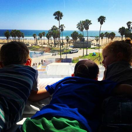 Hotel Erwin: Venice Beach view from Red Bull Dogtown Suite