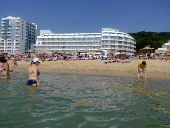 lti Berlin Golden Beach Hotel: pohled z moře