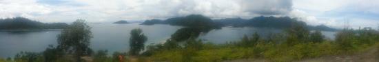 Padang, Indonesia: salah satu view pemandangan dari atas bukit