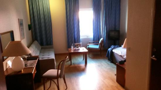 First Hotel Statt: I had very cheap price for one night stand.