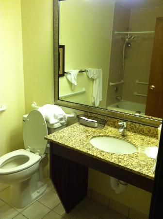 Best Western Pony Soldier Inn - Airport: Bathroom