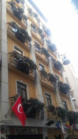 Hotel Residence Istanbul: Милый отельчик