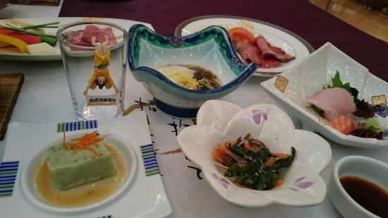 Oniyama Hotel: 夕食