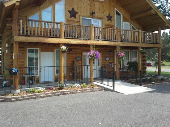 Alpine Lodge and Motel : Lodge office