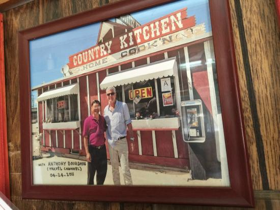 Country Kitchen Anthony Bourdain S Visit