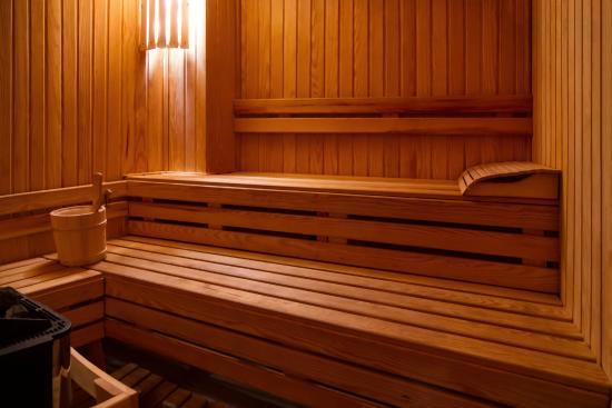 Eden Hotel: Sauna