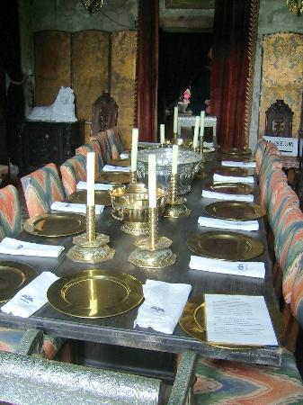 Chillingham Castle: The Dining Room